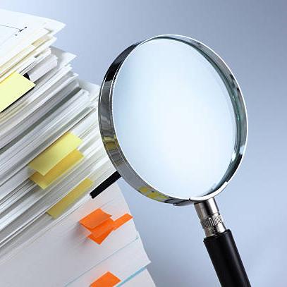 Investigate and analyze.